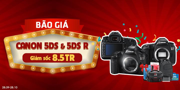 Canon 5ds 5dsr gia uu dai