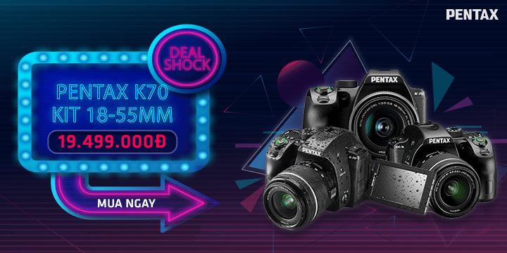 Deal Shock Pentax K70