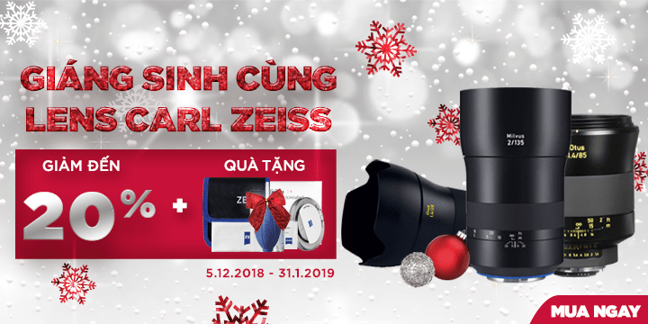 Lens Carl Zeiss don giang sinh 2018